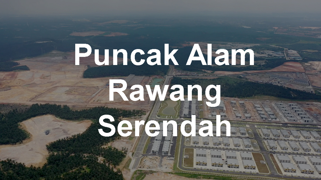 Industrial Land for Sale in Puncak Awam Rawang Serendah