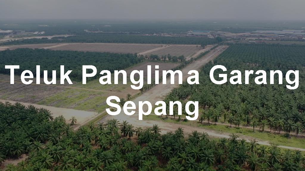 Industrial Land for Sale in Teluk Panglima Garang Sepang