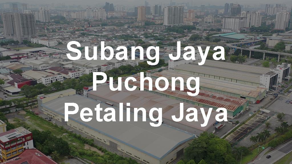 Warehouses for Rent in Subang Jaya, Petaling Jaya & Puchong